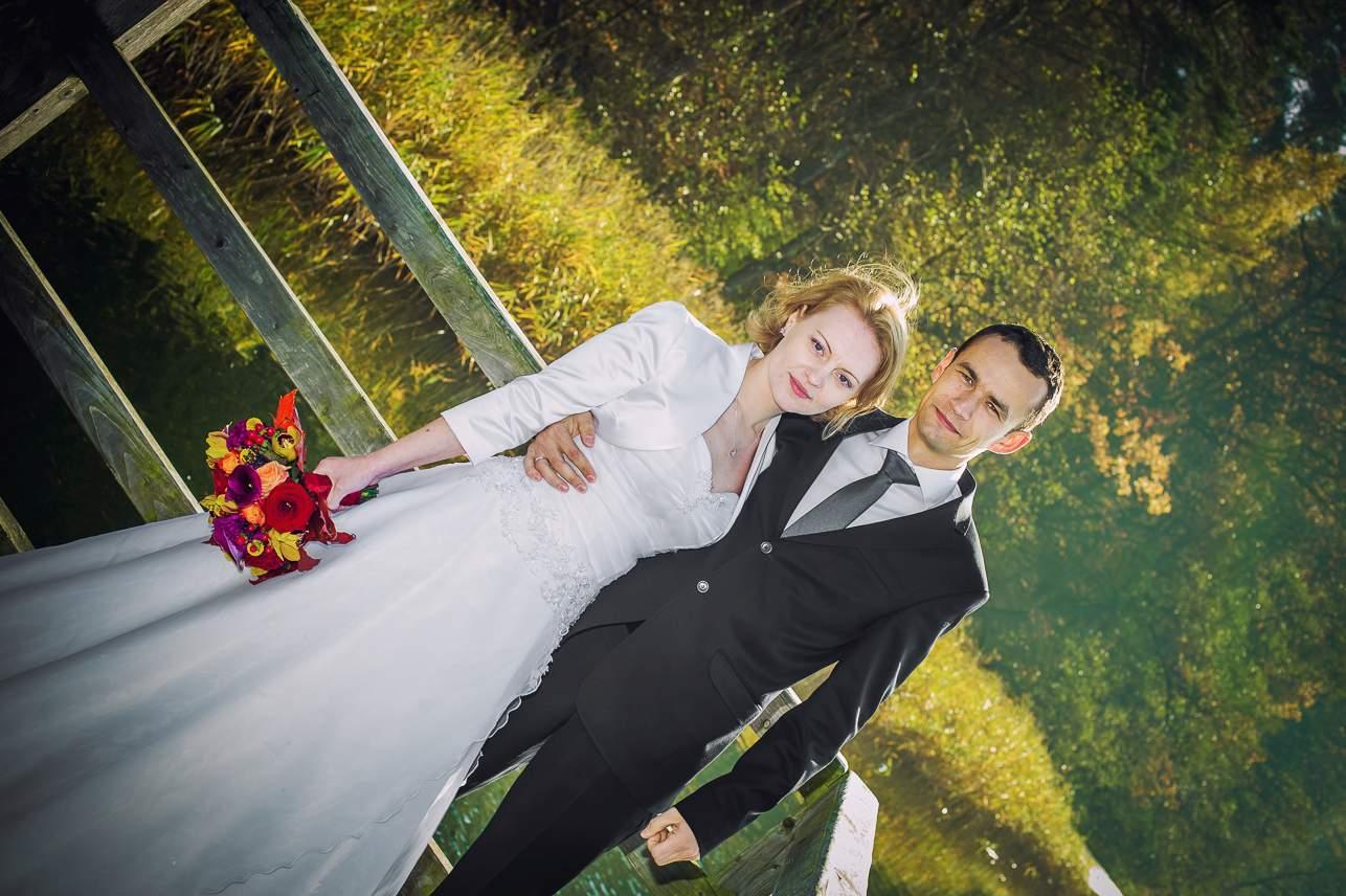 p 1 - Jesienna sesja ślubna