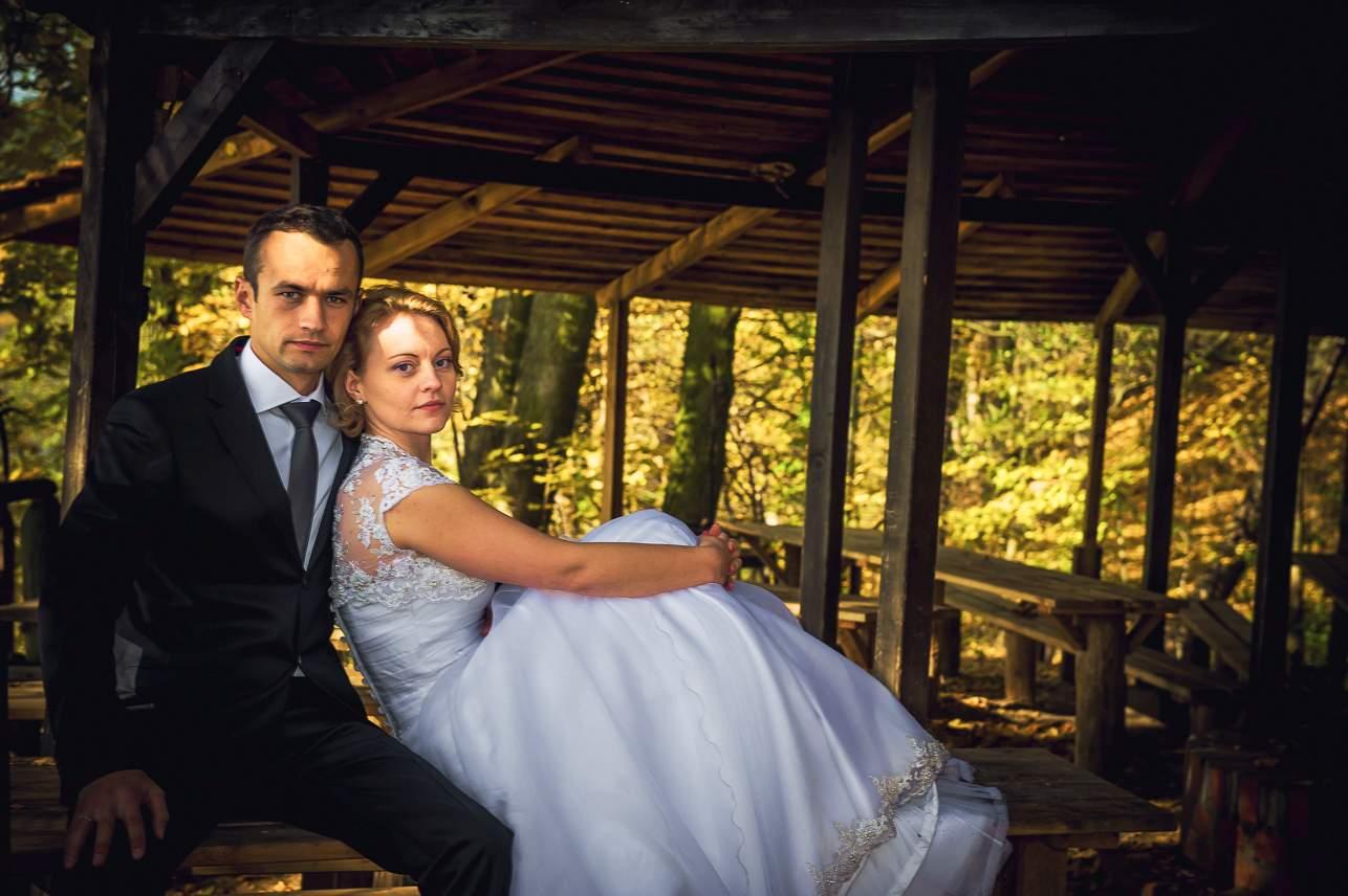 p 11 - Jesienna sesja ślubna