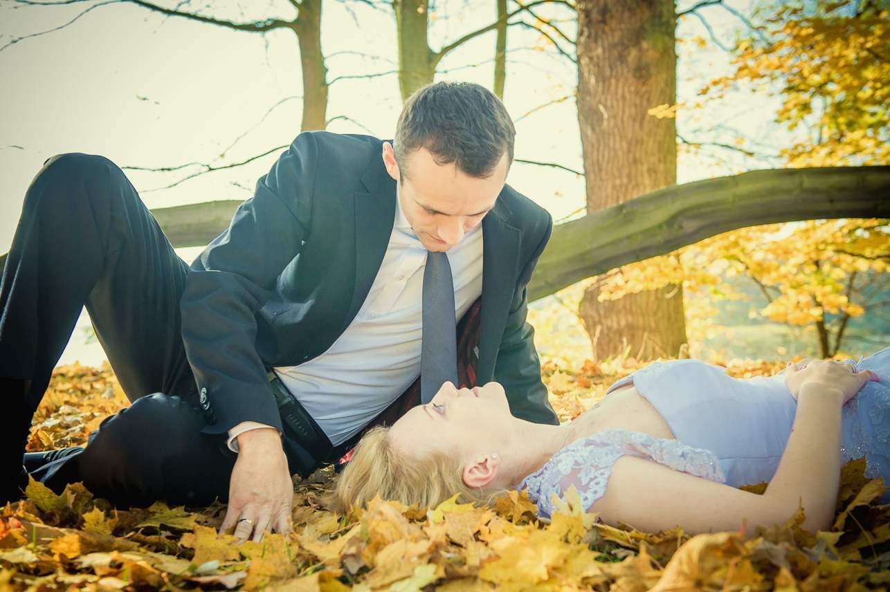 p 12 - Jesienna sesja ślubna