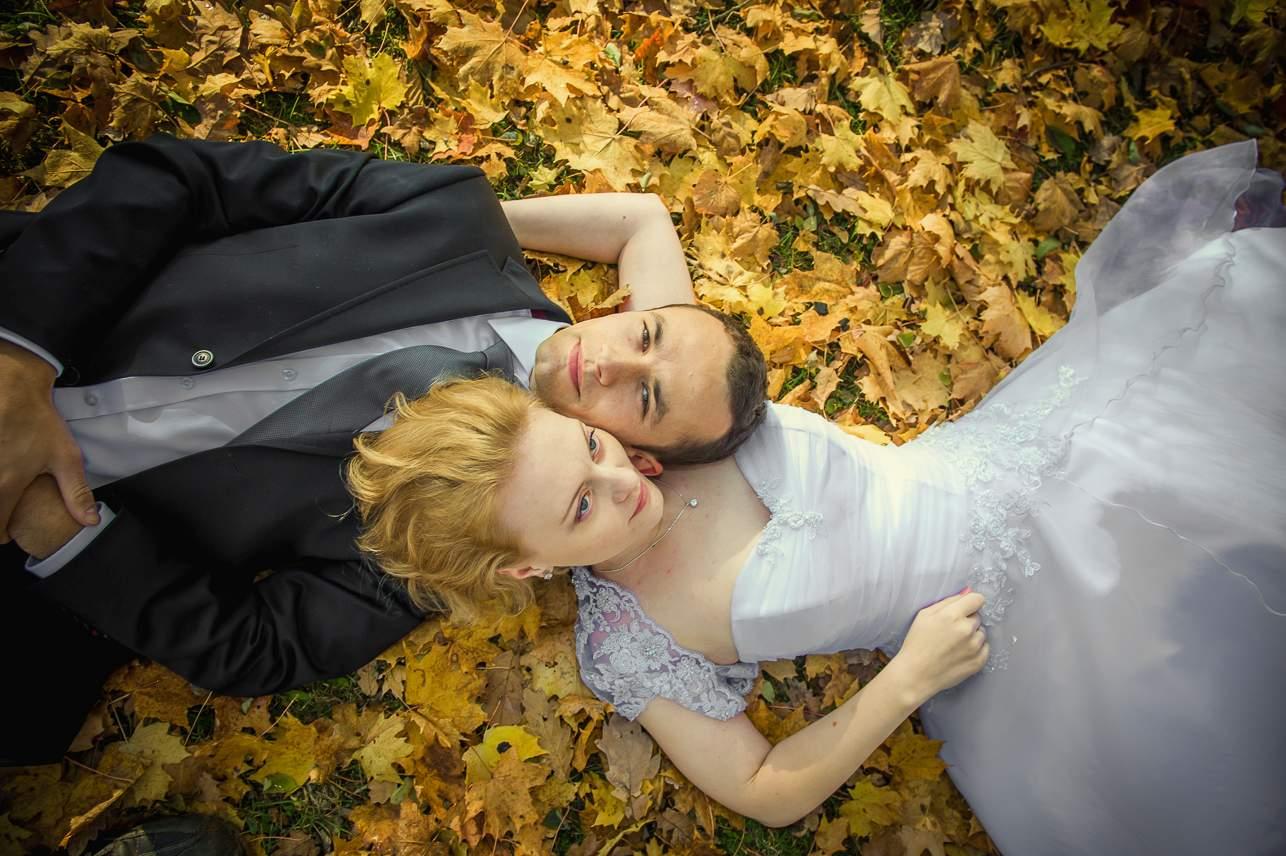 p 13 - Jesienna sesja ślubna