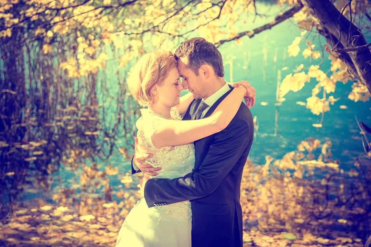 p 17 - Jesienna sesja ślubna