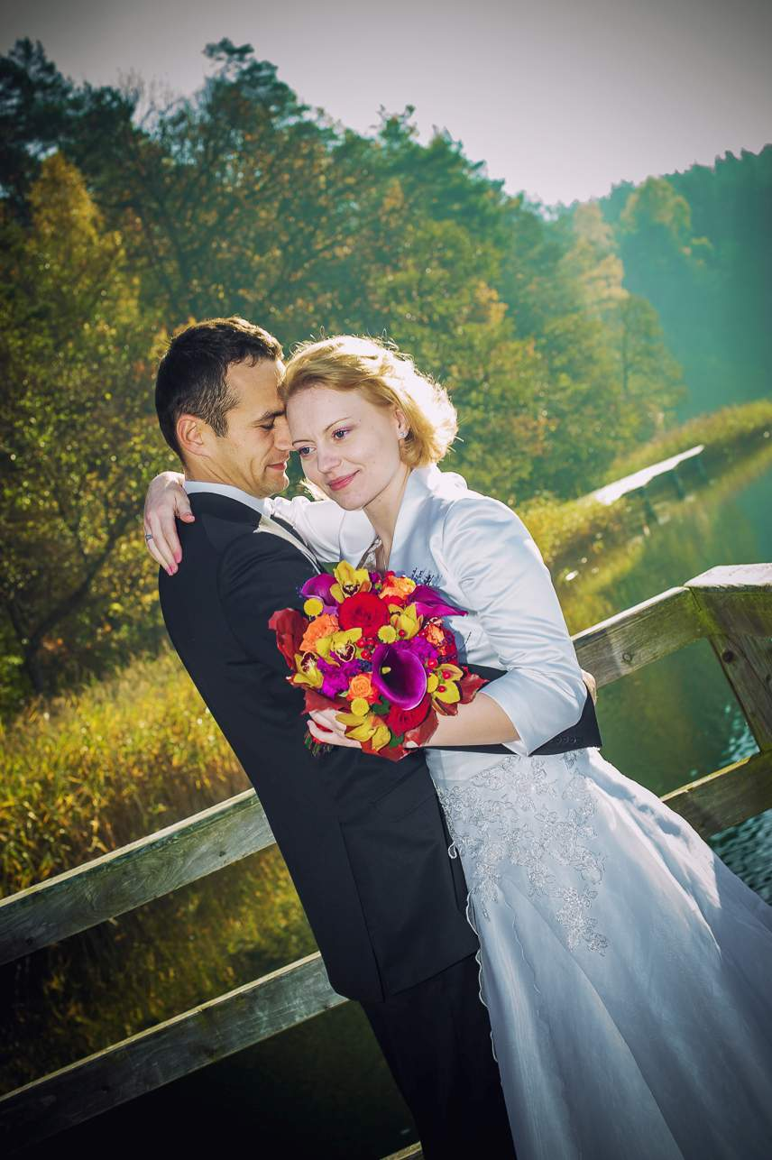 p 2 - Jesienna sesja ślubna