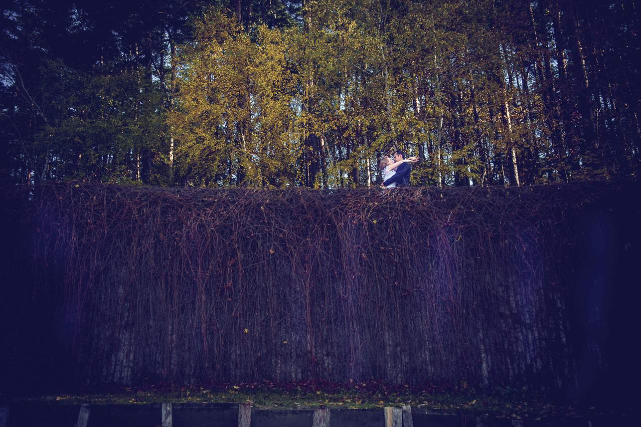 p 20 - Jesienna sesja ślubna