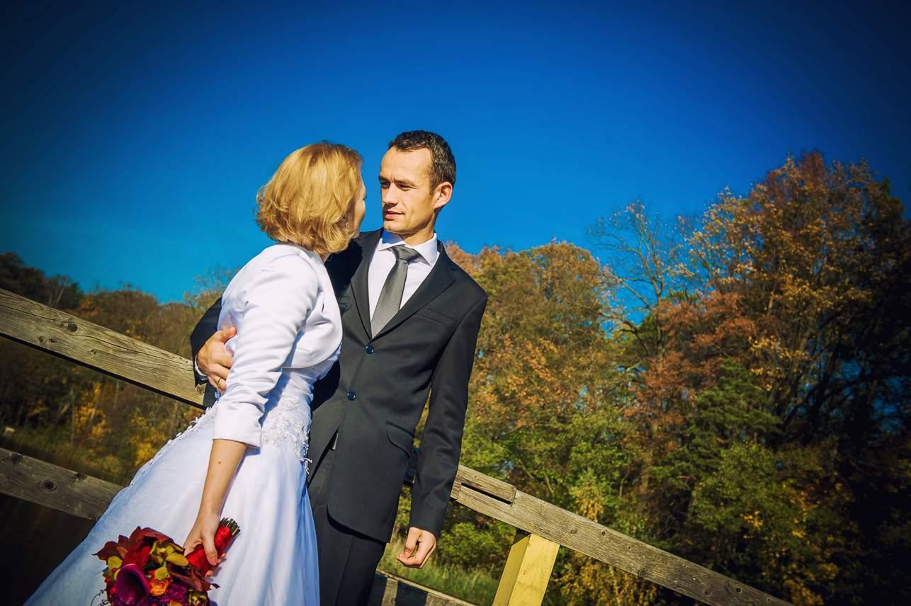 p 3 - Jesienna sesja ślubna