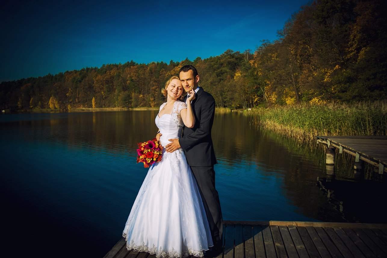 p 5 - Jesienna sesja ślubna