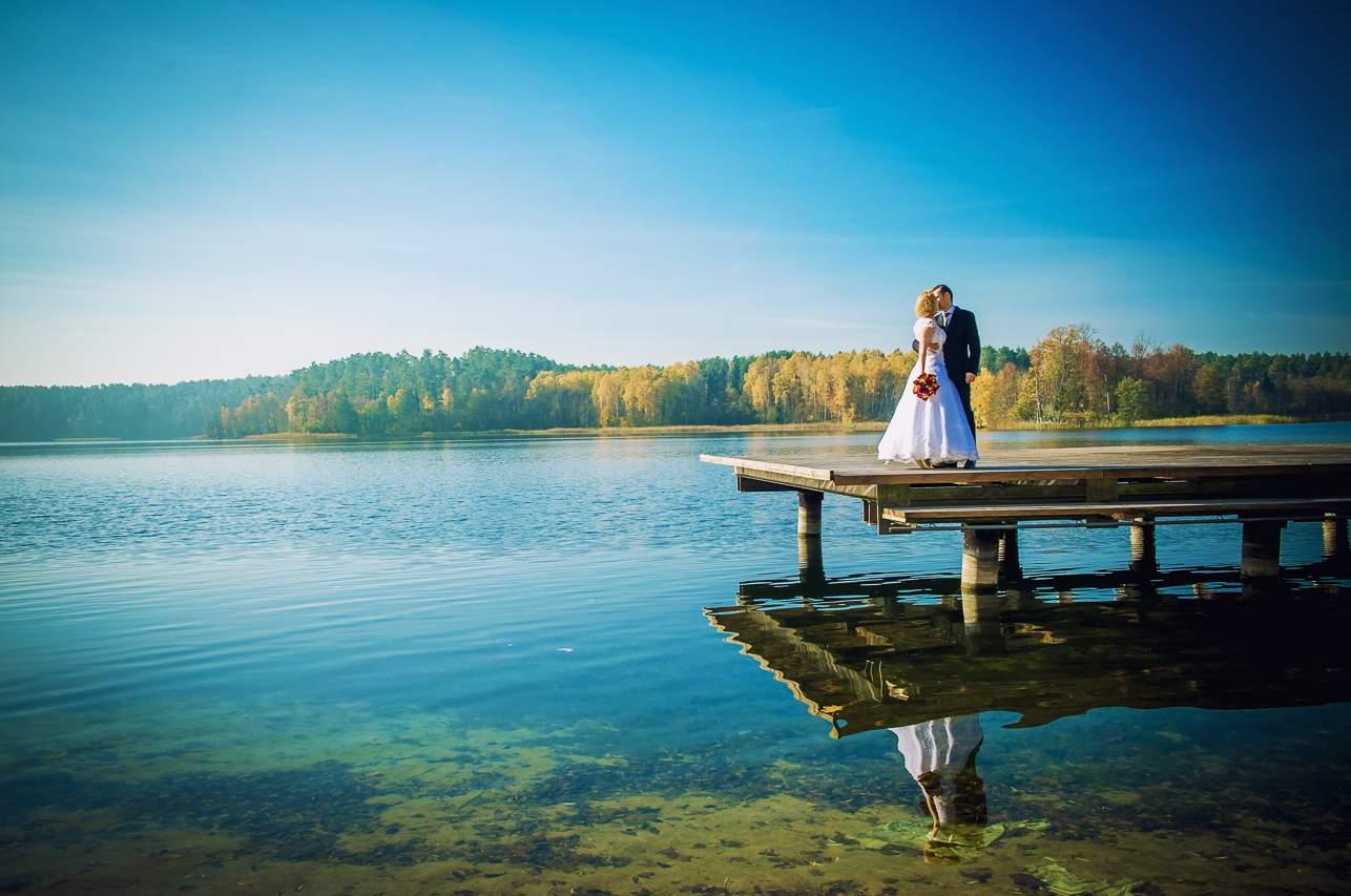 p 6 - Jesienna sesja ślubna