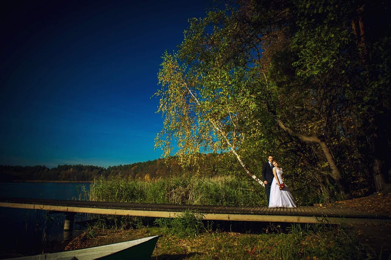 p 7 - Jesienna sesja ślubna
