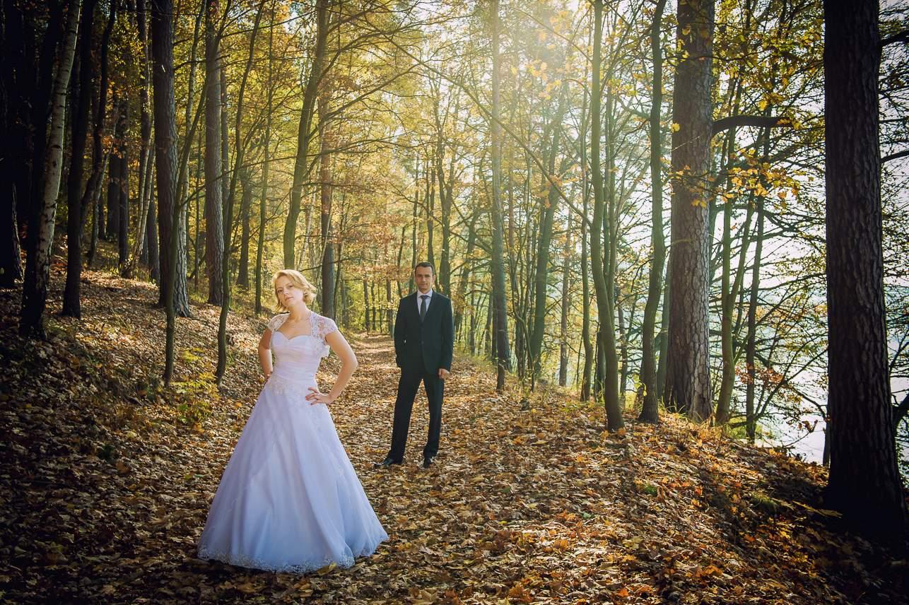 p 8 - Jesienna sesja ślubna