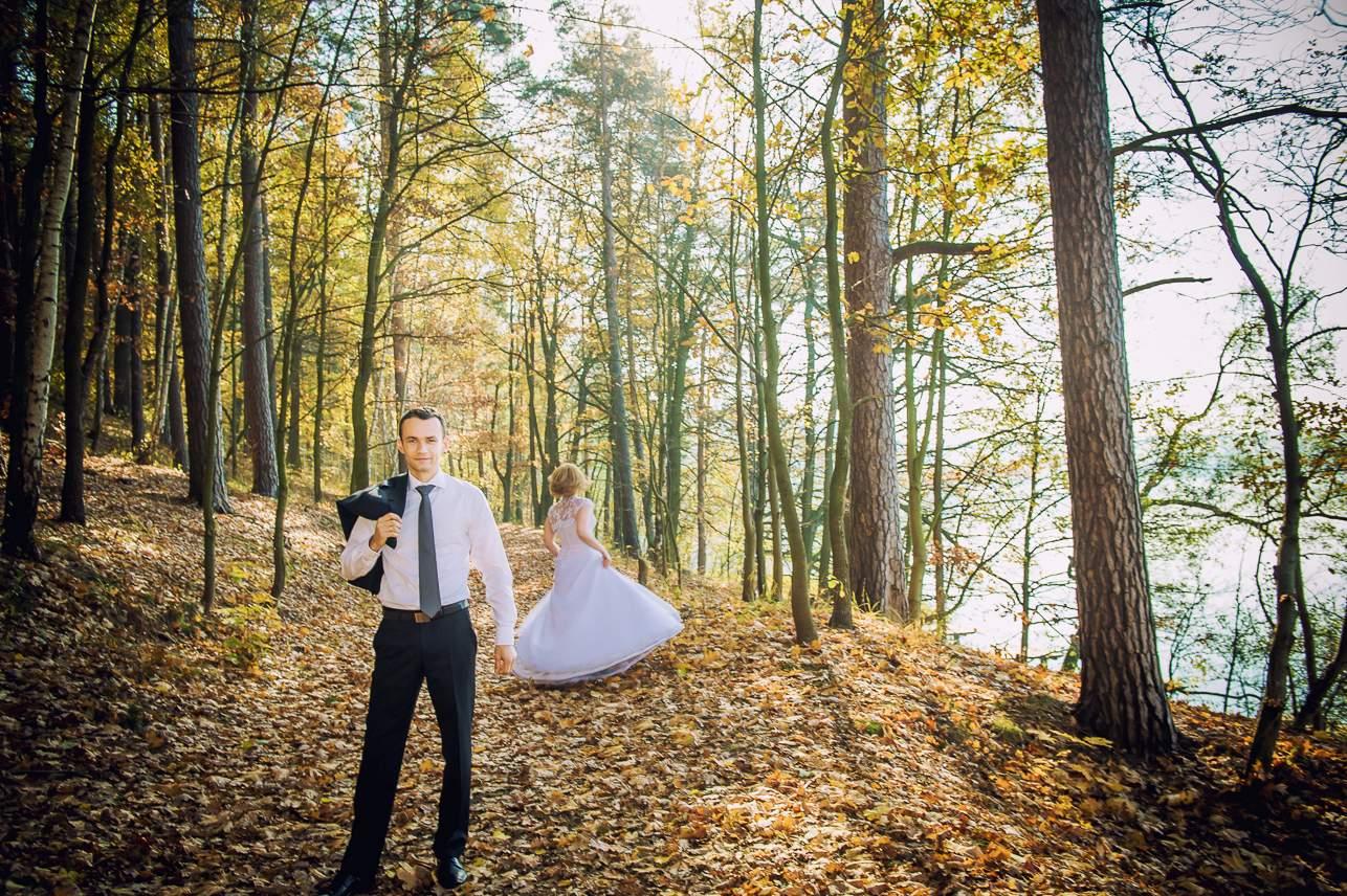 p 9 - Jesienna sesja ślubna