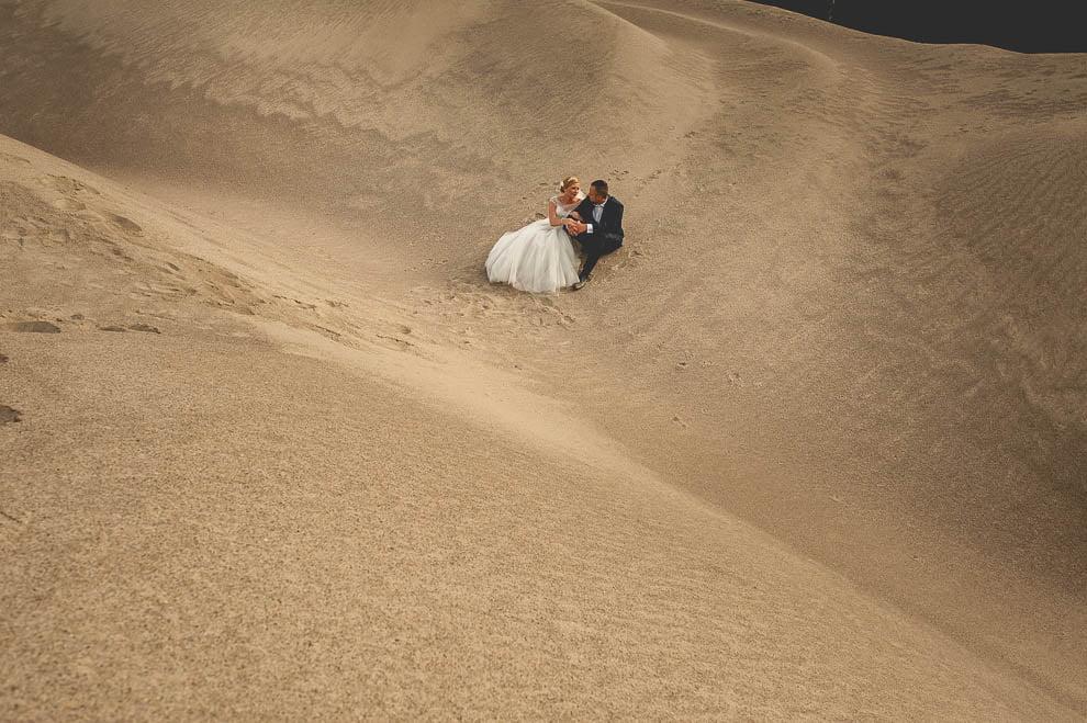 Sesja slubna na zwirowni 5 - Plenerowa sesja ślubna na żwirowni