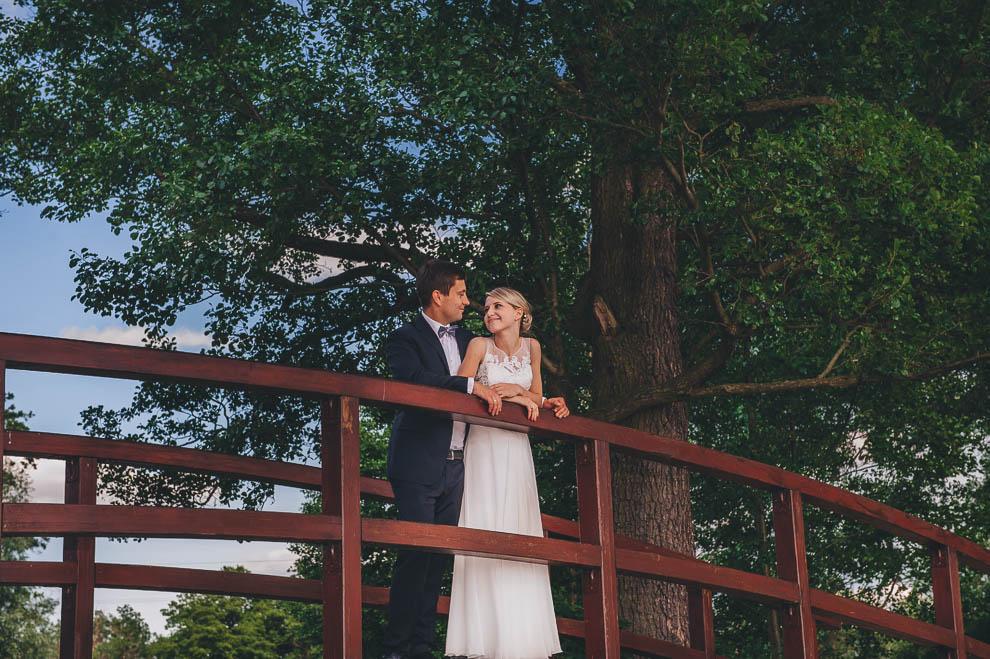 plener las 5 - Plener ślubny w lesie