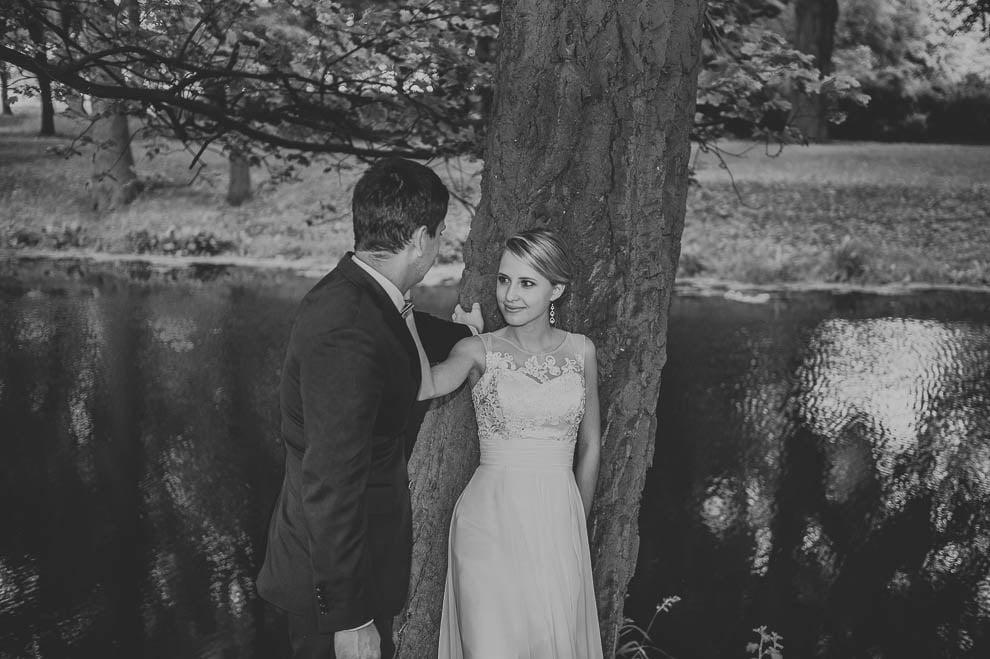 plener las 8 - Plener ślubny w lesie