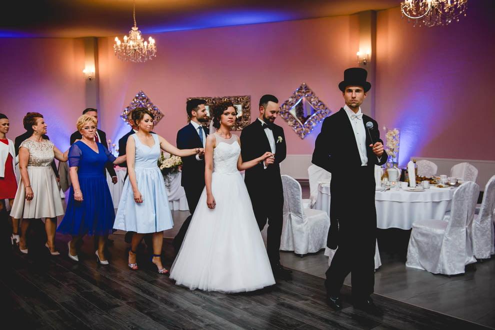 sala modrzewiowa rypin krysztalowa 78 - Ślub Restauracja Modrzewiowa w Rypinie