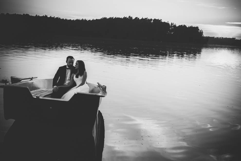 sesja nad jeziorem 14 - Sesja ślubna nad jeziorem