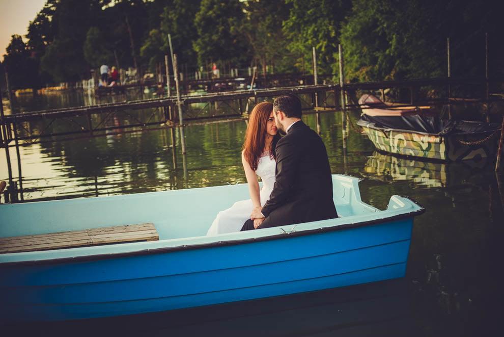 sesja nad jeziorem 20 - Sesja ślubna nad jeziorem