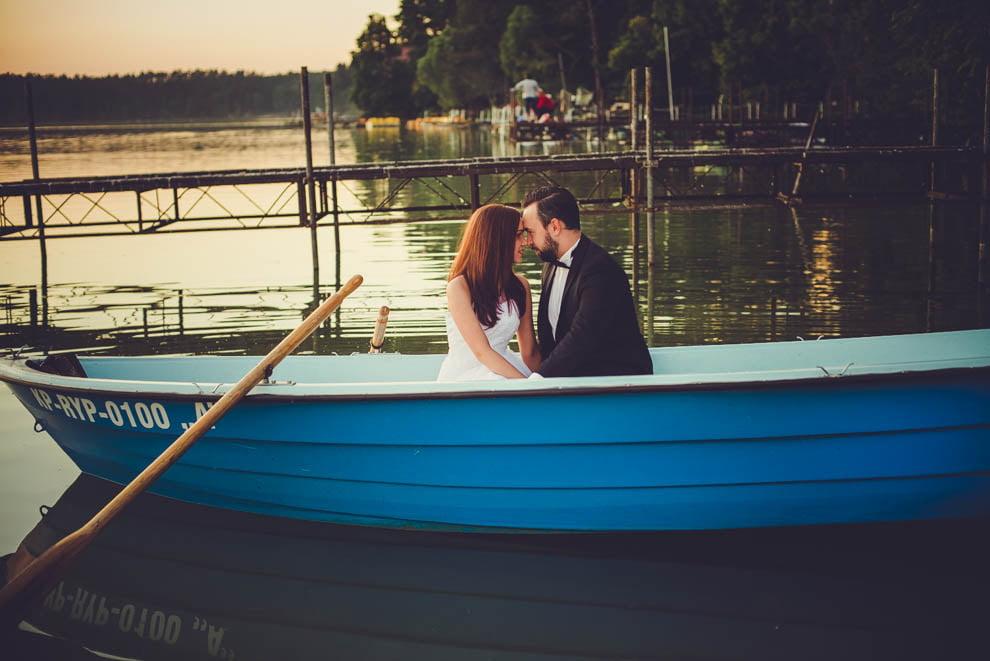 sesja nad jeziorem 21 - Sesja ślubna nad jeziorem