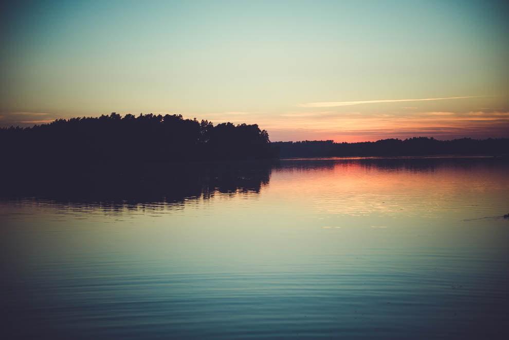 sesja nad jeziorem 27 - Sesja ślubna nad jeziorem
