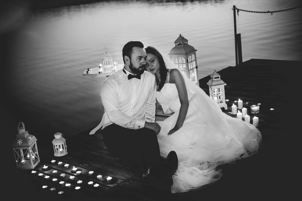 sesja nad jeziorem 29 - Sesja ślubna nad jeziorem