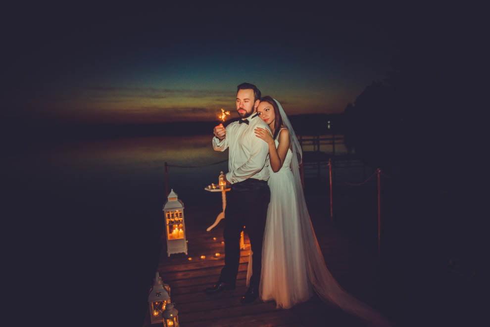 sesja nad jeziorem 54 - Sesja ślubna nad jeziorem