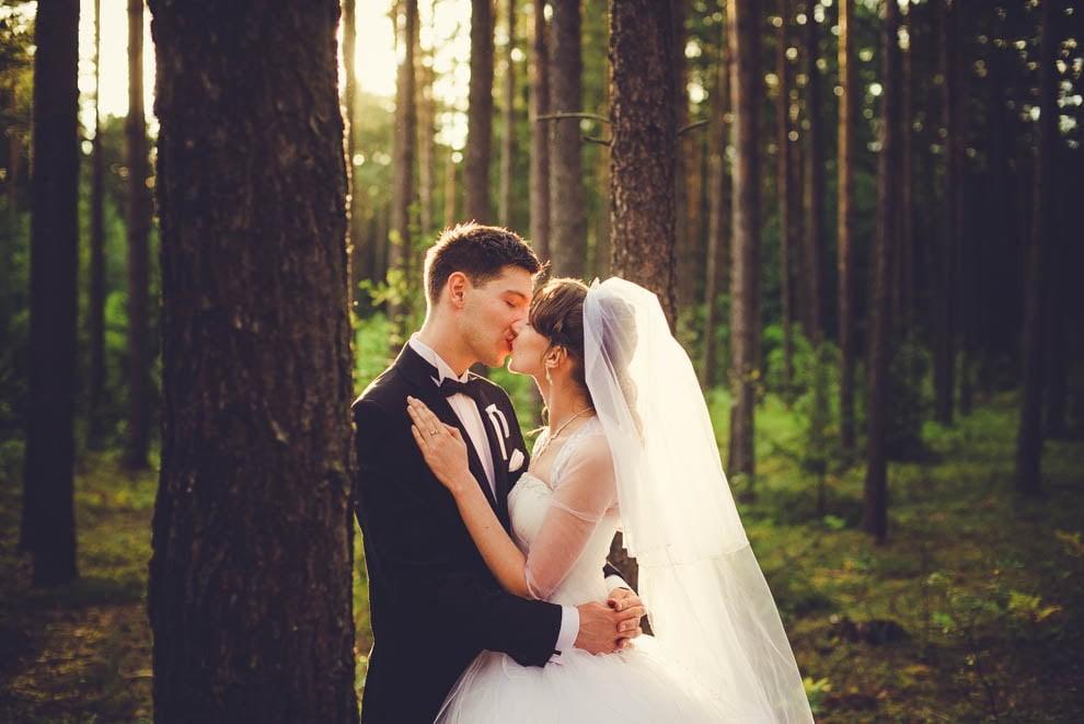 sesja slubna w lesie 15 - Sesja ślubna na łonie natury